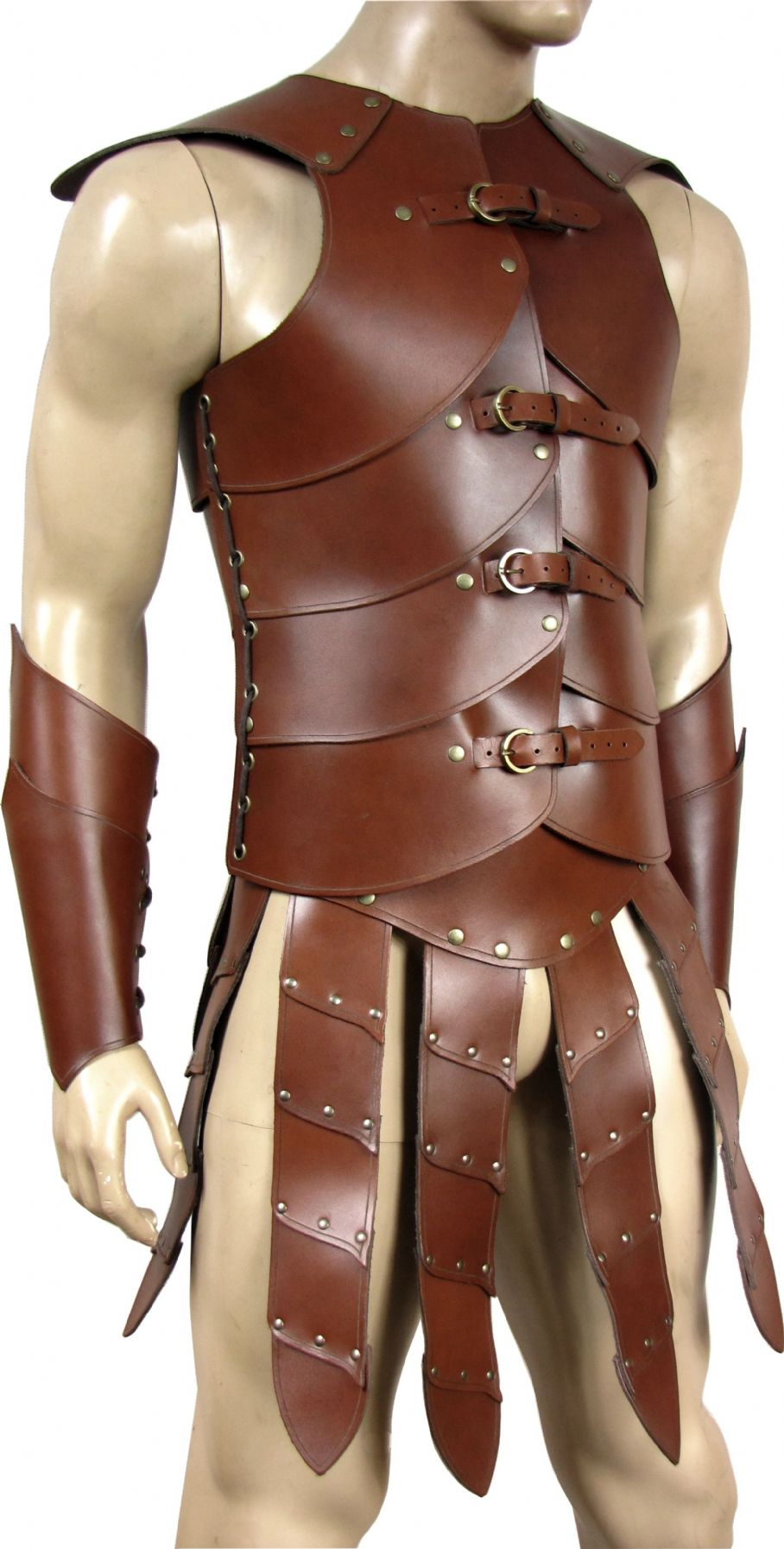 Leather Armour Sparticus Dual Swordsman Full Set